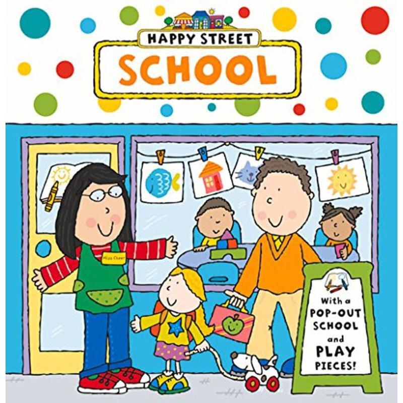 色色偶黄色电子书【book_《happy street board book: school》 【简介_书评