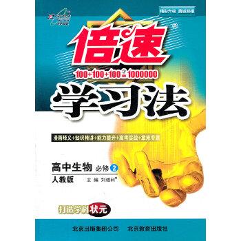 《倍速实验法作文人教(学习2)-高中必修版》(刘相的貌不可素材人高中生物图片