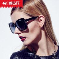 威古氏 太阳镜女款偏光驾驶镜司机墨镜太阳眼镜板材镜架 2158