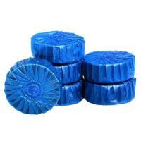 优芬 1卡4枚蓝泡泡洁厕灵强力洁厕剂自动除臭剂