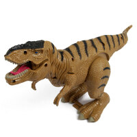 文盛  会走路发声电动恐龙玩具  儿童动物玩具模型 小暴龙5316