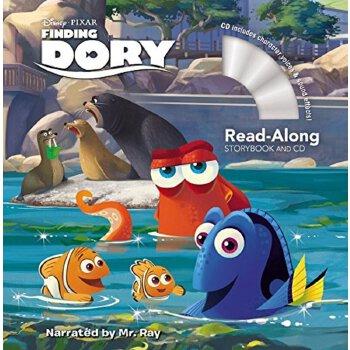 英文原版 迪士尼海底总动员2 寻找多莉 finding dory