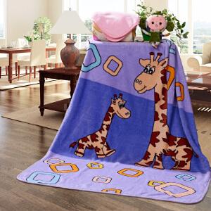 [当当自营]富安娜拉舍尔保暖多功能毯子 时空 蓝色 200*230/2800g