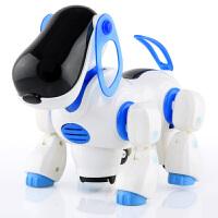 橙爱 新新家族 电动狗儿童益智玩具 机器电子狗乐乐 电动学步益智玩具