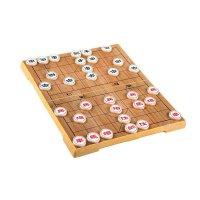 好吉森鹤友邦 UB 中国象棋 仿木纹JP塑料象棋 便携折叠 磁性棋盘套装中国象棋(大号36*31CM)-1套+送品6603