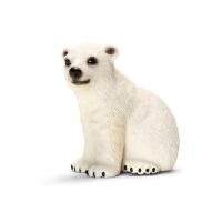[当当自营]Schleich 思乐 野生动物系列 白熊崽 S14660