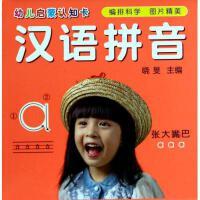 汉语拼音/幼儿启蒙认知卡 晓�F 正版书籍 少儿