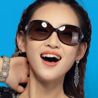 威古氏偏光太阳镜 大框时尚驾驶镜 女士太阳眼镜9017