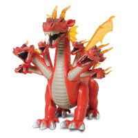 文盛 会发声有灯光会走路会蹲下电动恐龙玩具 儿童动物玩具模型 七头卧龙5312