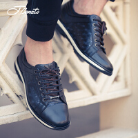 宾度加州鞋新品休闲鞋男平跟减震潮流男鞋潮鞋子英伦板鞋