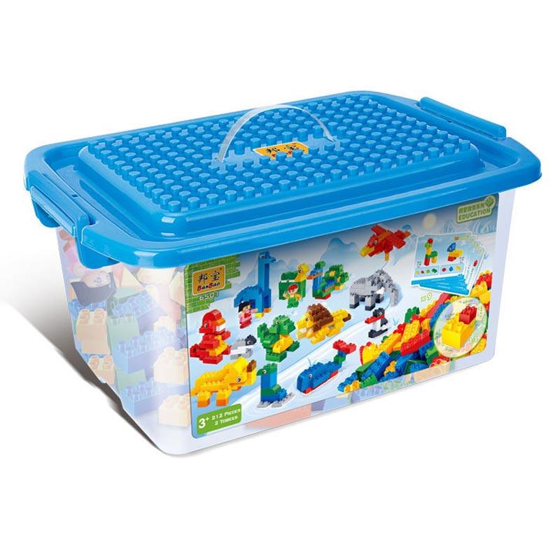 邦宝拼插积木 儿童益智启蒙教玩具 大颗粒 幼儿园教育 6501动物认知