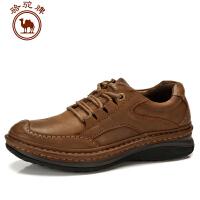 骆驼牌男鞋秋冬新款男士日常休闲鞋子头层牛皮鞋舒适耐磨