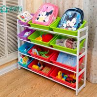 瑞美特儿童玩具收纳架整理筐置物架储物架幼儿园宝宝玩具架超大