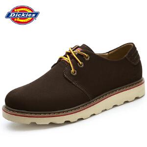 Dickies男鞋2016夏季新款系带休闲鞋男士英伦工装男鞋潮鞋161M50LXS02