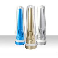雅格LED充电3827手电筒 锂电池强光远射迷你应急户外照明家用手电筒