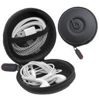 多功能收纳盒 数据线防水保护包 耳机收纳盒 可同时容纳数据线+耳机 iPod shuffle便携收纳包