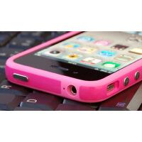 苹果4代 配件 bumper保护套 iPhone4 硅胶套手机套外壳