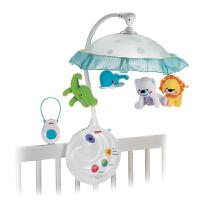 [当当自营]Fisher Price 费雪 可爱动物两用声光床铃 婴儿玩具 N8849
