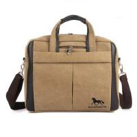 【支持礼品卡支付】单肩包手提包笔记本包帆布包商务休闲14寸电脑包斜跨包