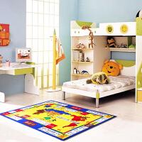 【包邮】惠多休闲棋地毯 大富翁 100*130厘米儿童益智地毯地垫