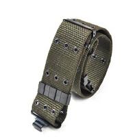 军迷装备 户外美版S型插扣 战术腰带 多孔战术腰带