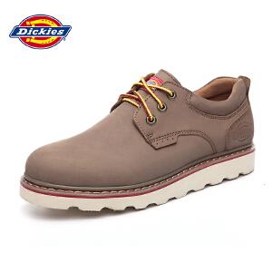 Dickies 户外工装鞋透气真皮时尚 透气耐磨户外休闲男鞋 161M50LXS01