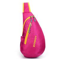 户外男女款斜挎包运动包 单肩旅游包 防水胸包胸前包水滴包