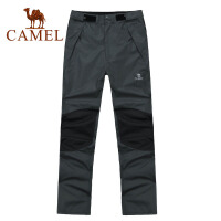 CAMEL 骆驼 户外 运动休闲  男款冲锋裤 2F01015