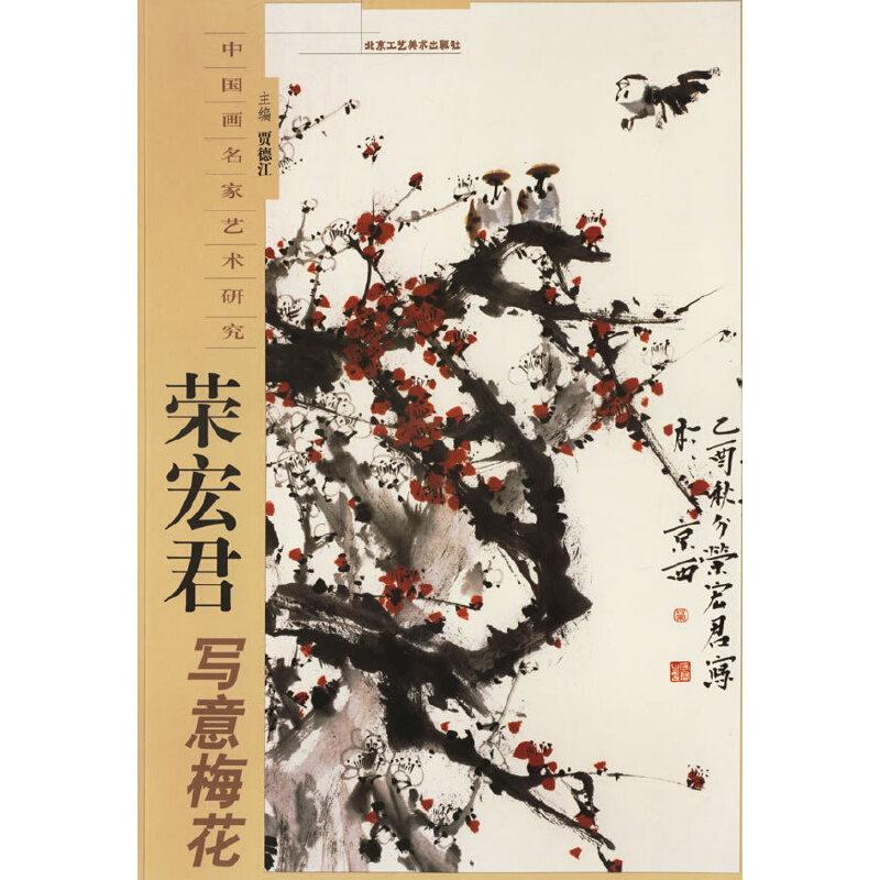 荣宏君写意梅花——中国画名家艺术研究 (800x800)