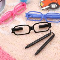 眼镜笔 眼镜框造型圆珠笔 可爱 卡通 学生 个性 笔 韩国创意文具