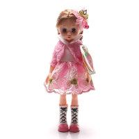 安娜公主 会闭眼的芭比娃娃玩具套装礼盒 洋娃娃女孩礼物35厘米