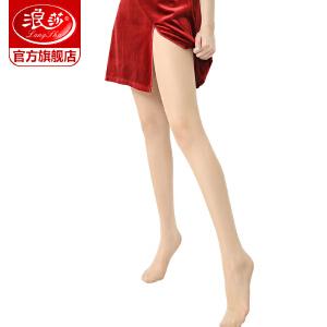 6条 浪莎丝袜子 女士防热浪超薄丝袜包芯丝绢感觉加裆连裤袜子