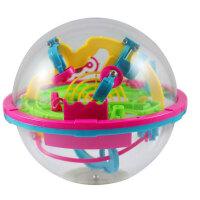 爱可优 3D立体迷宫球幻智力球挑战智力 儿童益智玩具球 创意玩具 100关929A
