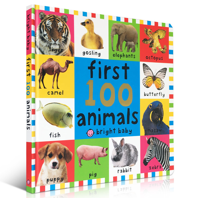 《First 100 Animals宝宝的第一本100种动物书
