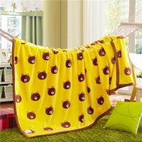 晶丽莱 法莱绒毛毯 加厚保暖床单 法兰绒毯子 午睡儿童卡通盖毯