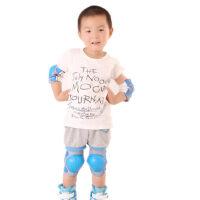 轮滑护具儿童护膝护肘套装男女滑冰旱冰溜冰滑板护具