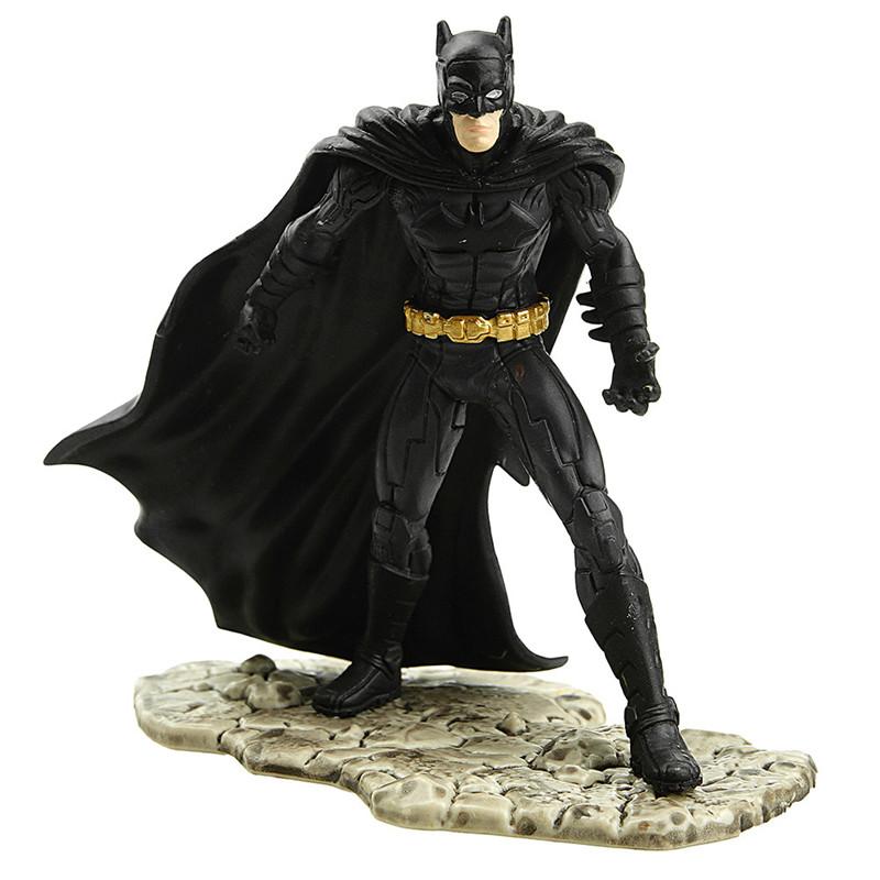 [当当自营]Schleich 思乐 DC超级漫画英雄系列 战斗的蝙蝠侠 仿真塑胶模型收藏玩具动漫周边 S22502【当当自营】仿真塑胶模型 收藏玩具 高级动物模型公仔