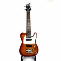 支持货到付款 ukulele 电尤克里里23寸 夏威夷成人小四弦电琴 电声小吉他 电乌克丽丽 FTLUK-3-QVS