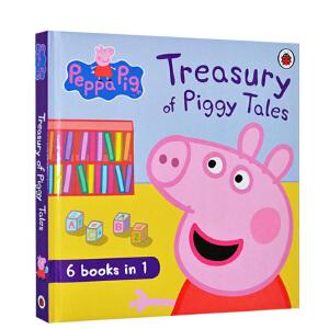 【英文原版】小猪佩佩奇 Peppa Pig: Treasury of Piggy Tales 6合1合辑故事书 粉红猪小妹佩琪 适合3-6岁孩子 绘本