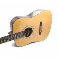 (货到付款)Jackson  木吉他 民谣吉他 41寸  六弦琴 民谣吉他 初学 吉他 入门 云衫木面板 琴弦 (三色可选:经典原木色 黑色 太阳色)GD-8 送:背包 拨片 背带 一弦 扳手 《即兴之路》教材  CD