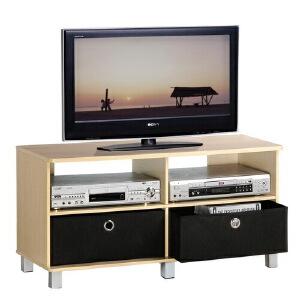 [当当自营]慧乐家 双抽电视柜11156 木纹色 多功能柜子