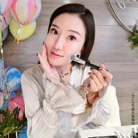 优家(UPLUS)ColorShine系列动物毛筒装8支化妆套刷(化妆刷眼影刷唇刷眉刷)