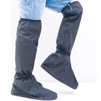 雨易思鞋套防水防滑女下雨天骑行穿耐磨加厚底高筒防雨鞋套