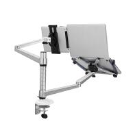 埃普 OA-9X 笔记本/平板电脑双臂支架 铝合金桌面懒人支架