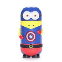 尚帝小黄人 英雄联盟超人版 保温杯双层304不锈钢卡通水杯2015-DYPG-DP-255