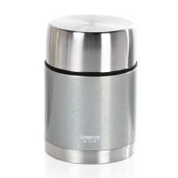 包邮 哈尔斯 不锈钢真空保温壶 焖烧壶 罐饭盒 粥宝 灰色 700ml