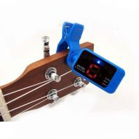 支持货到付款 阿诺玛调音器 十二平均律 电贝司 木吉他 民谣吉他 贝司 尤克里里 小吉他 调音器 调音表 定音器 AT-100 ( 三色可选 小巧 便携 性价比高 )