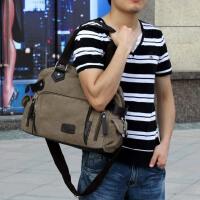 【支持礼品卡支付】男包韩版单肩包休闲包斜挎包手提包帆布包旅行包