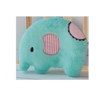 日照鑫 大号2.2L可爱卡通毛绒大象充水热水袋暖壶冲水抱枕暖手宝 一个装