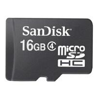 SanDisk/闪迪TF 16G TF卡 Class4 MicroSD 手机内存卡 存储卡手机配件